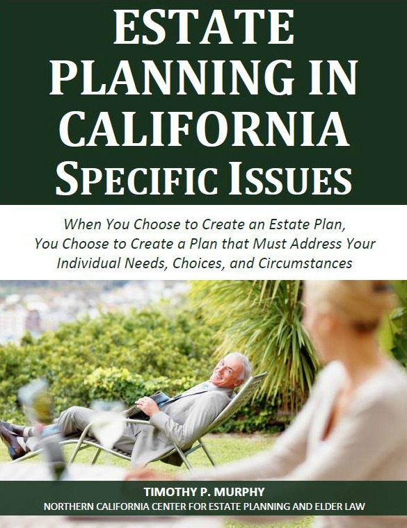 Estate Planning in California: Specific Issues